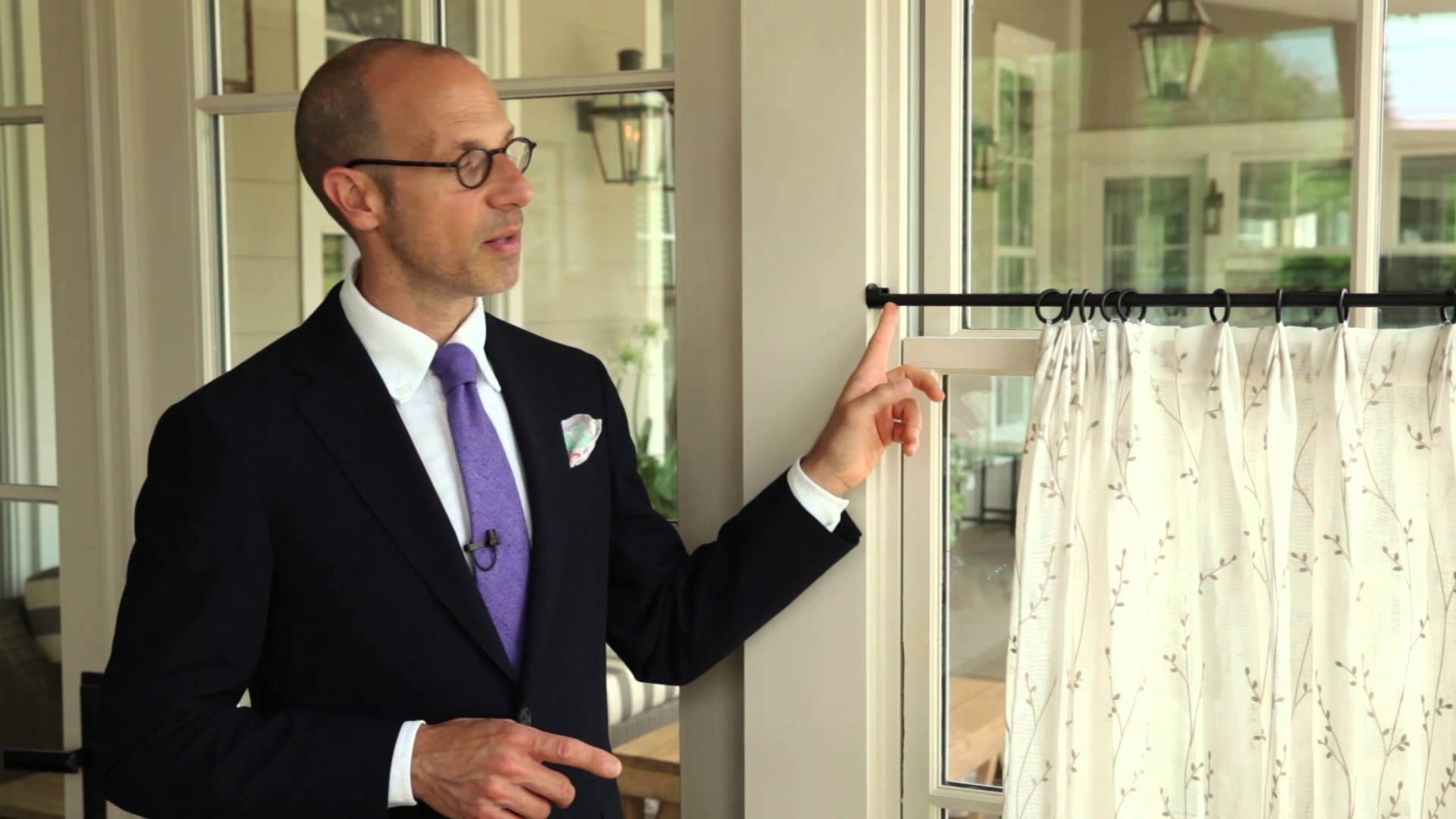 How To Hang Cafe Curtains Southern Living Youtube With Regard To Cafe Curtain Rods (Image 18 of 25)