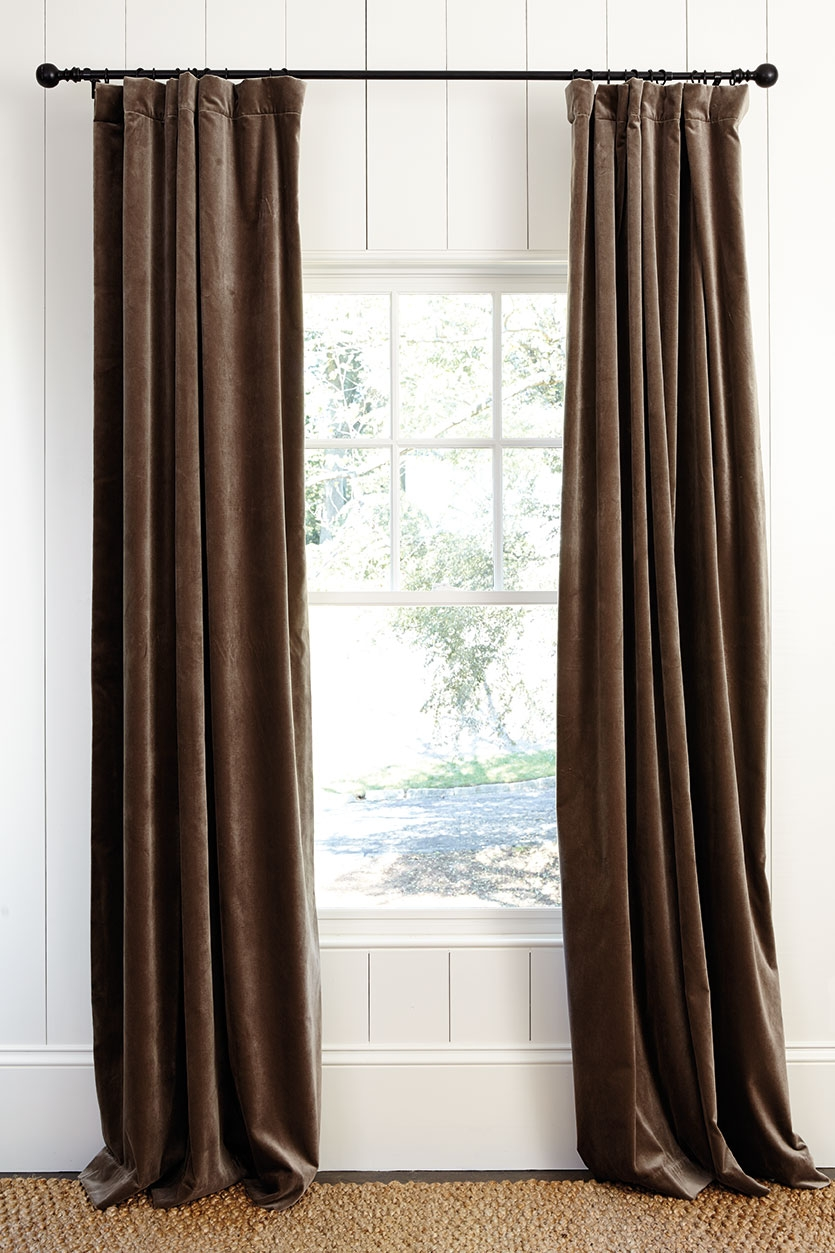 How To Hang Drapes How To Decorate For 63 Inches Long Curtains (Image 14 of 25)