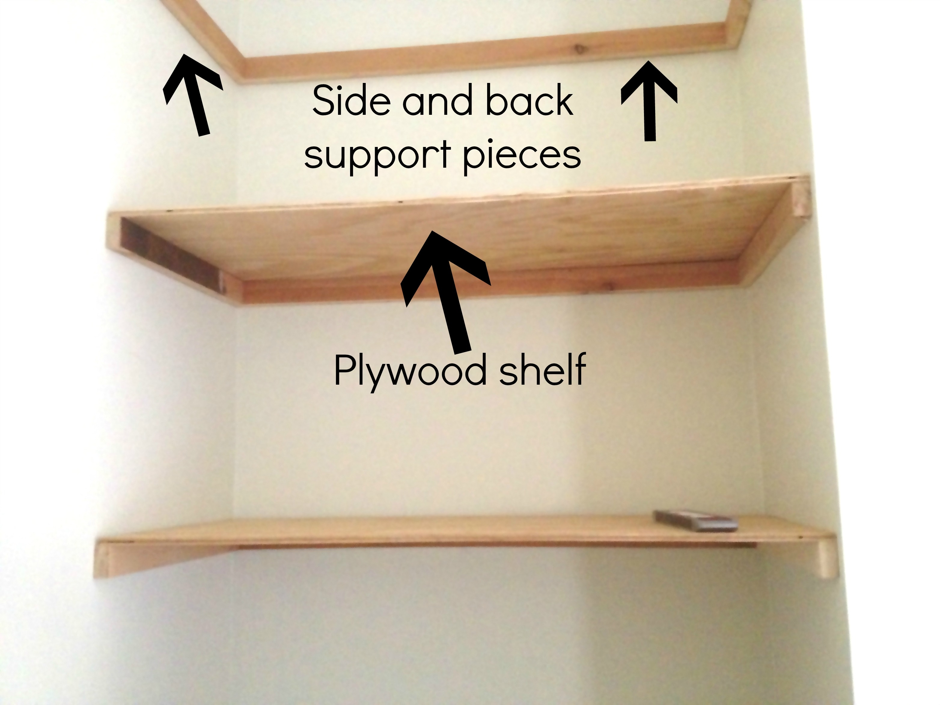 How To Hang Glass Shelves Collage Andrea Outloud Regarding Free Floating Glass Shelves (View 15 of 15)