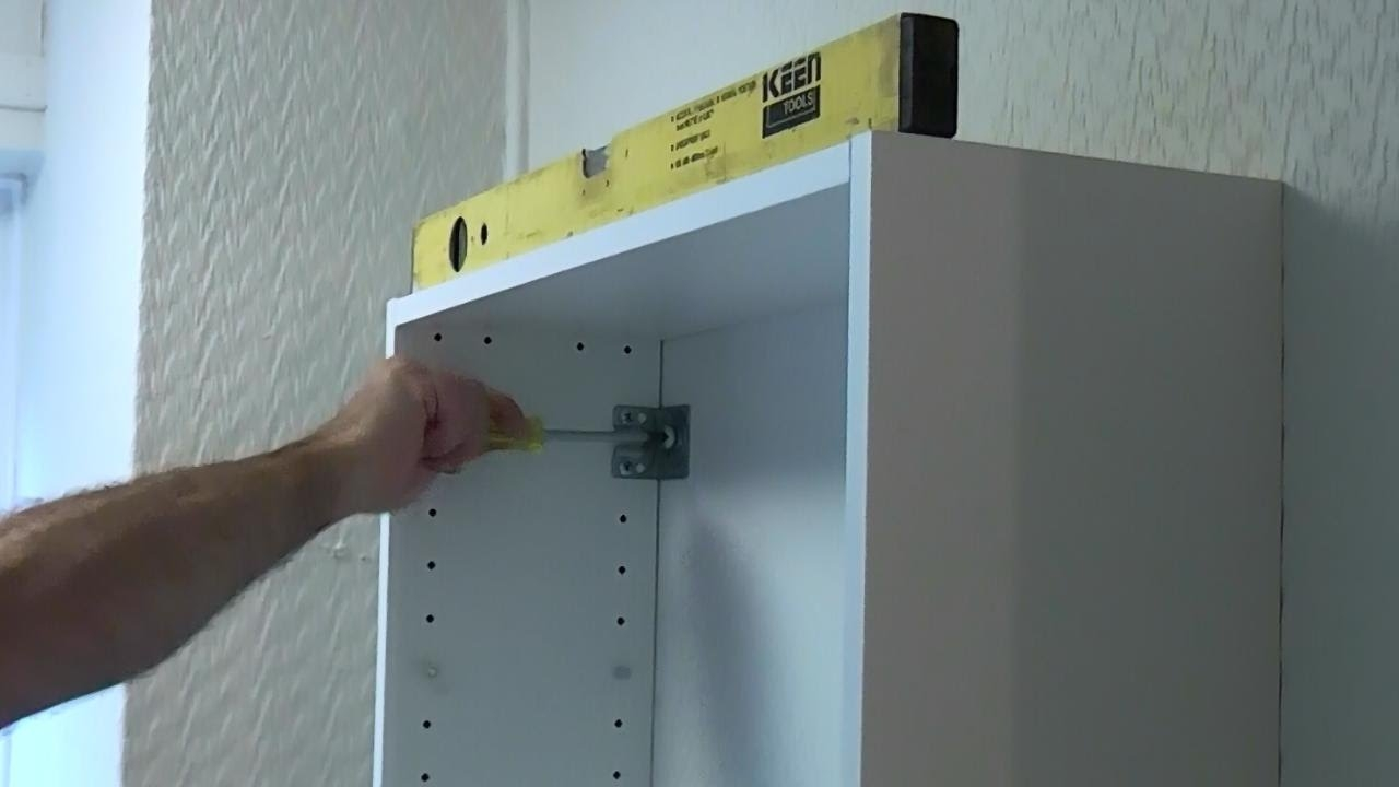 How To Install A Bathroom Cabinet On A Plasterboard Wall Youtube Regarding Shelves On Plasterboard Walls (Image 12 of 15)
