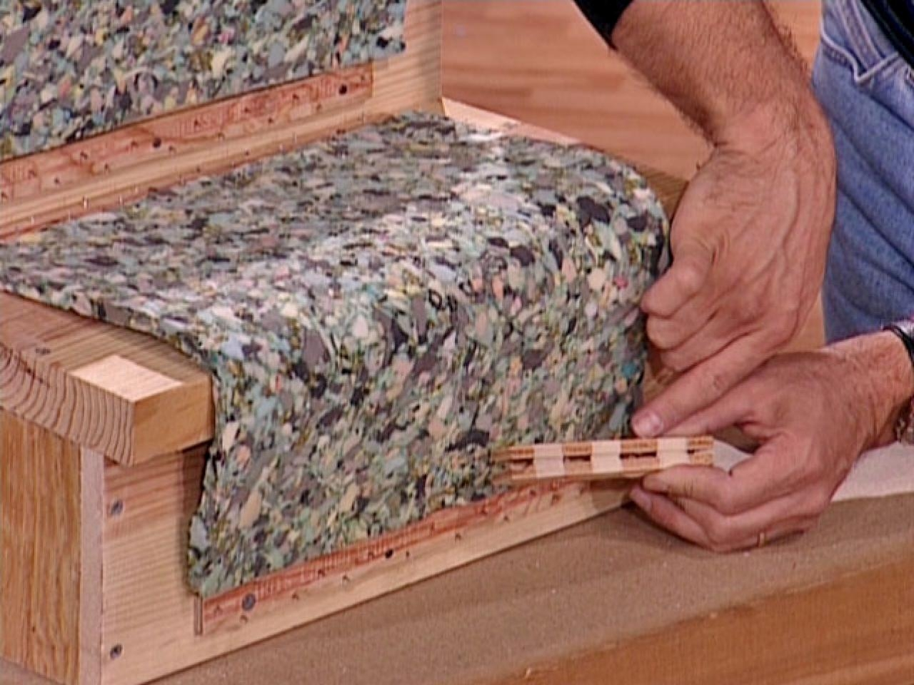 How To Install A Carpet Runner On Wooden Stairs How Tos Diy Regarding Carpet Strips For Stairs (Image 10 of 15)