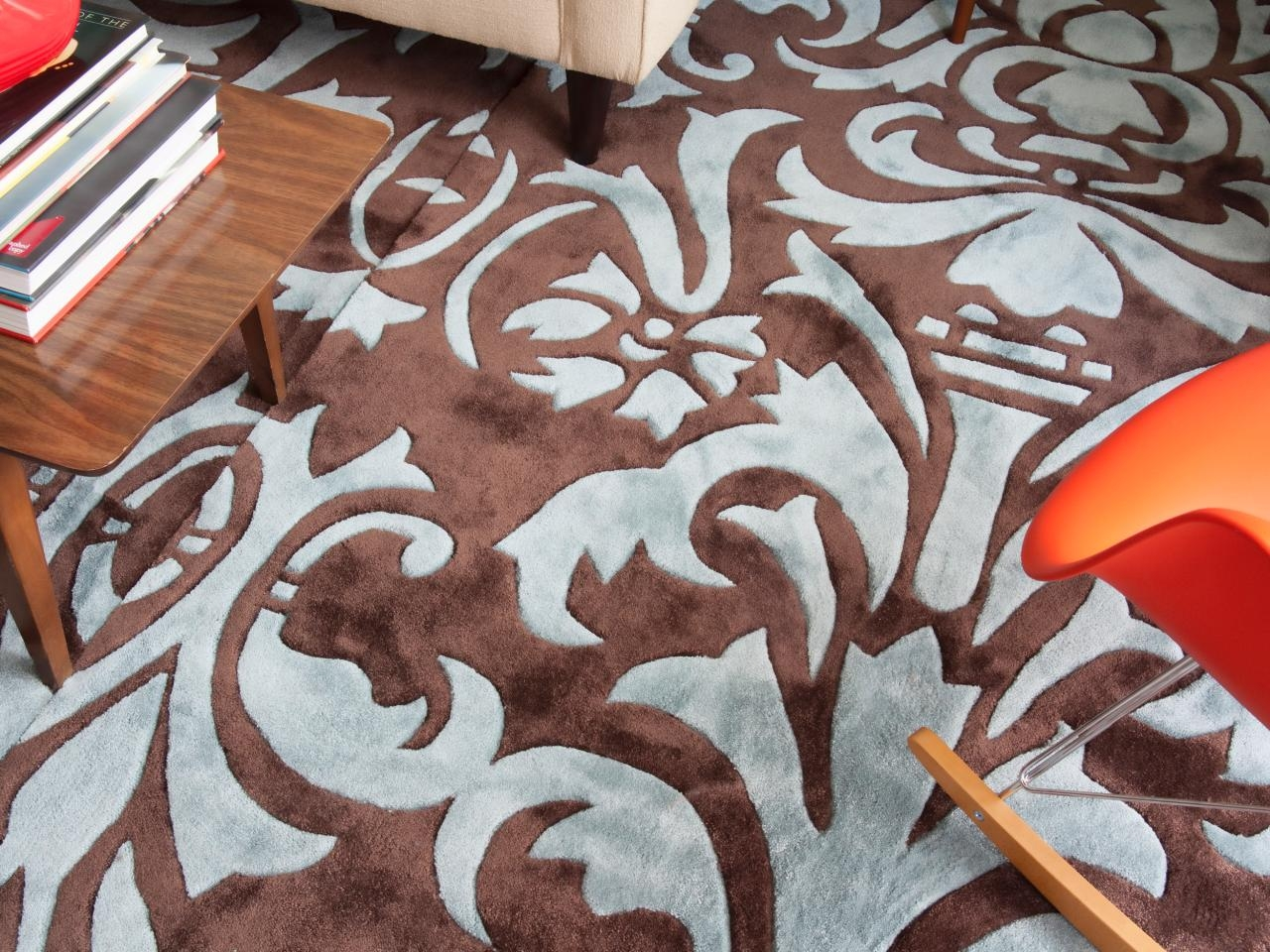 How To Make One Large Custom Area Rug From Several Small Ones Hgtv Within Custom Made Area Rugs (Image 10 of 15)