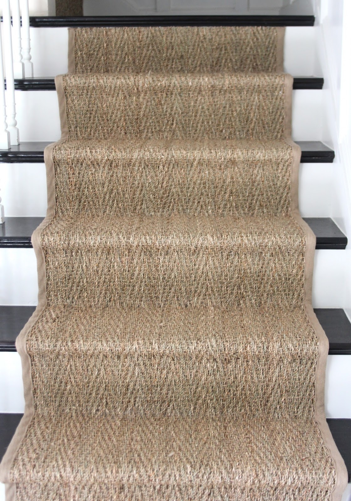 How To Seagrass Stair Runner Shine Your Light Throughout Natural Stair Tread Rugs (Image 4 of 15)