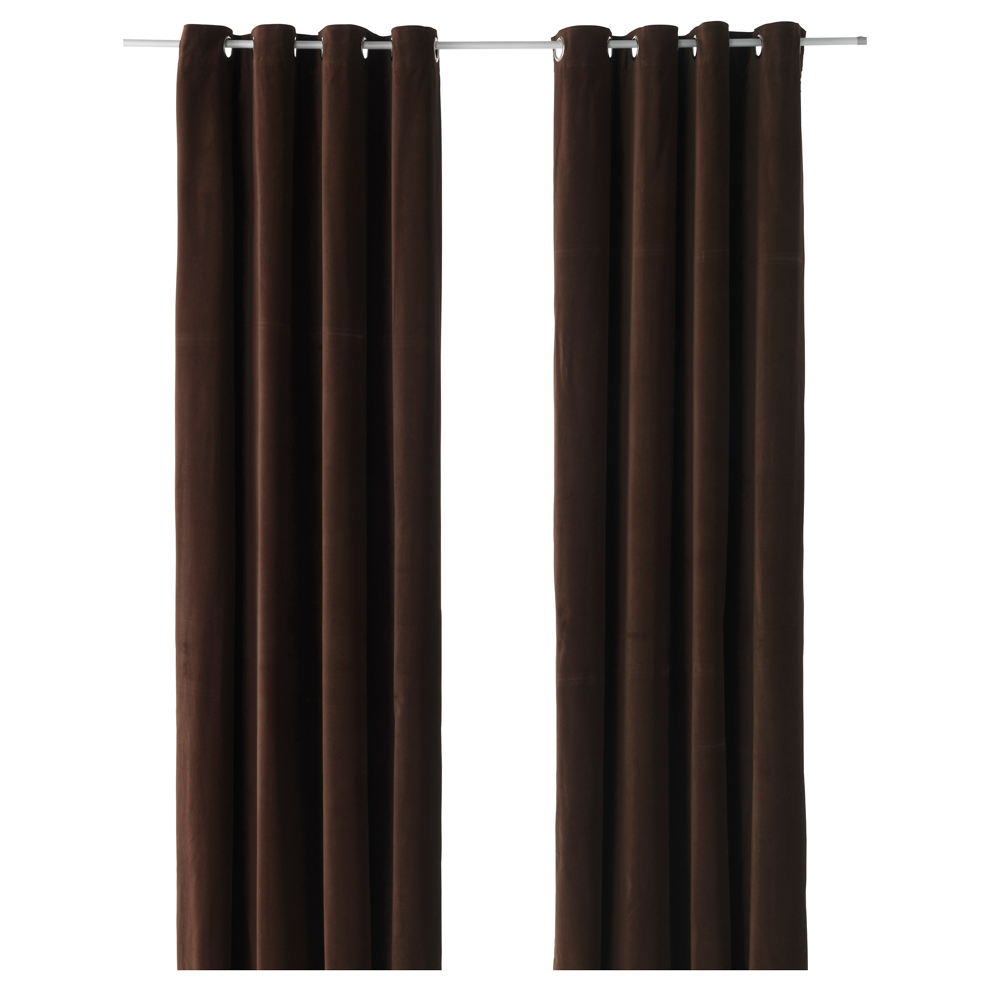 Ikea Curtains Brown Decorate The House With Beautiful Curtains With Regard To Short Brown Curtains (Image 13 of 25)