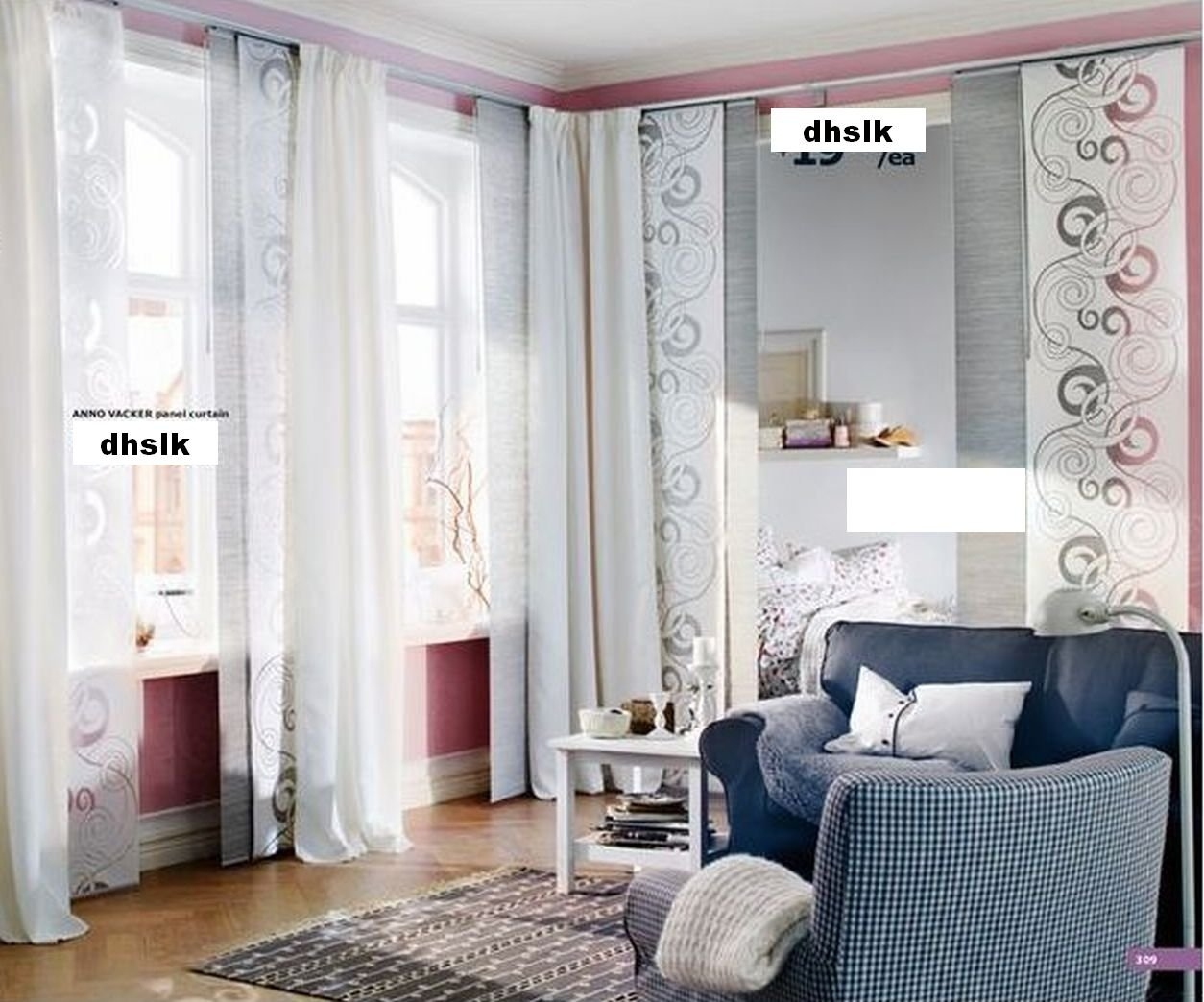 Ikea Curtains Room Divider Decorate The House With Beautiful In Room Curtain Divider IKEA (Image 15 of 25)