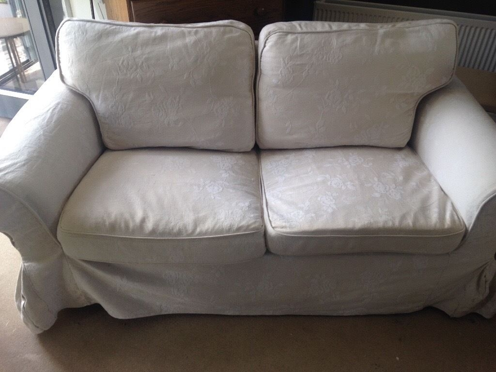 Ikea Ektorp 2 Seater 3 Seater Sofa Come With Cream Washable In Sofa With Washable Covers (Image 3 of 15)