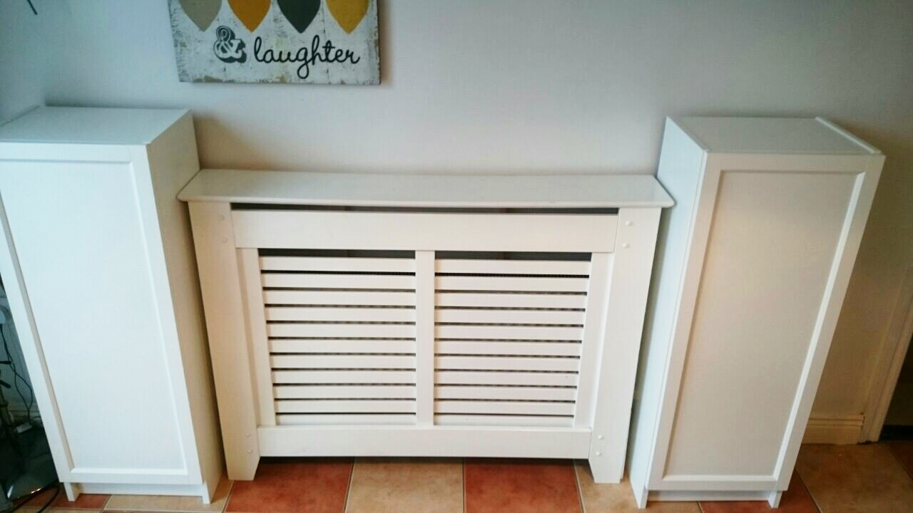 Ikea Hack For Built In Dining Room Storagewhen You Have To Work Pertaining To Radiator Cabinet Bookcase (View 15 of 15)