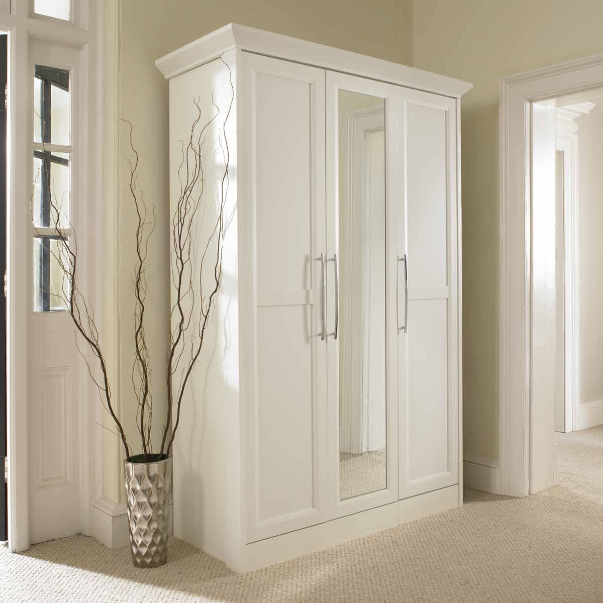 Image Of Door Mirrored Armoire Chifferobes Pinterest Door With Regard To White Wardrobe Armoire (Image 17 of 25)