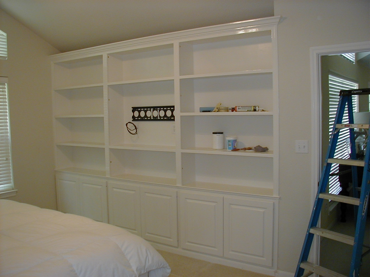 Images Of Wall Mounted Tv With Built In Cabinets Wall With In Wall Cupboards (Image 8 of 15)