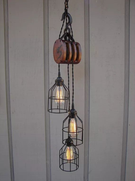 Impressive Best Double Pulley Pendant Lights Throughout Best 25 Pulley Light Ideas On Pinterest Pulley Vintage (Image 10 of 25)