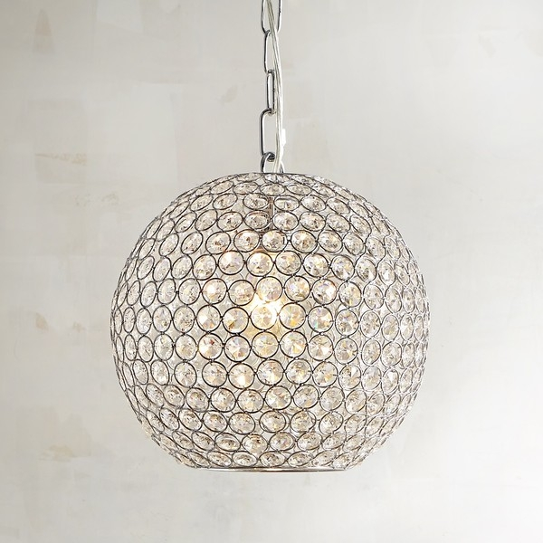 Impressive Best Pier One Pendant Lights Throughout Pier 1 Imports Crystal Bead Orb Pendant Light 149 Liked On (Image 18 of 25)