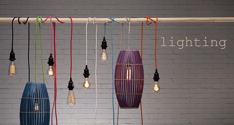 Impressive Brand New Coloured Cord Pendant Lights Throughout Pendant Light Cords Single Light Bulb Cords (Image 15 of 25)