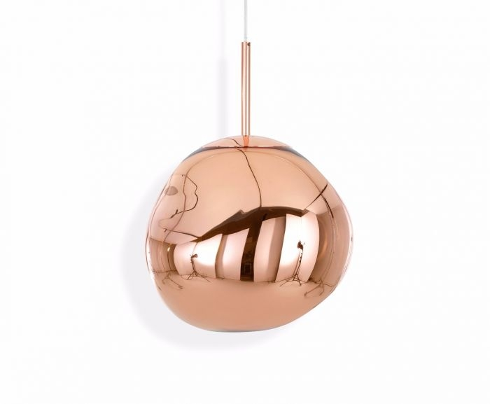 Impressive Brand New Copper Mini Pendant Lights With Regard To Melt Mini Pendant Copper (Image 12 of 25)