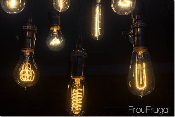 Impressive Common Bare Bulb Light Fixtures Intended For How To Make A Bare Edison Bulb Chandelier (Image 14 of 25)