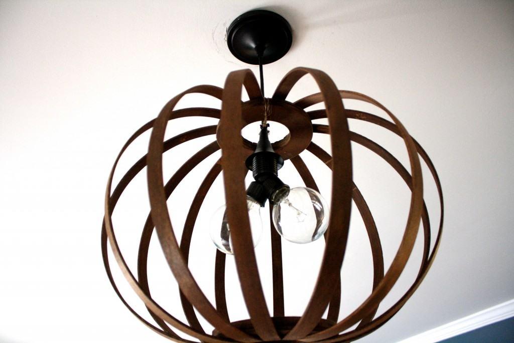 Impressive Common Bentwood Pendant Lights Intended For West Elm Knock Off Diy Bentwood Pendant Tutorial Designer (Image 12 of 25)