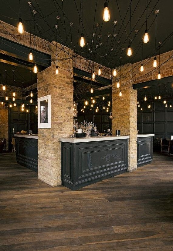 Impressive Common Restaurant Pendant Lights Intended For Best 25 Restaurant Lighting Ideas On Pinterest Bar Lighting (Image 15 of 25)