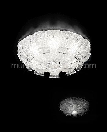 Impressive Common Venetian Glass Ceiling Lights Intended For Murano Glass Ceiling Lamps Modern Style Murano Glass Shop (View 8 of 25)