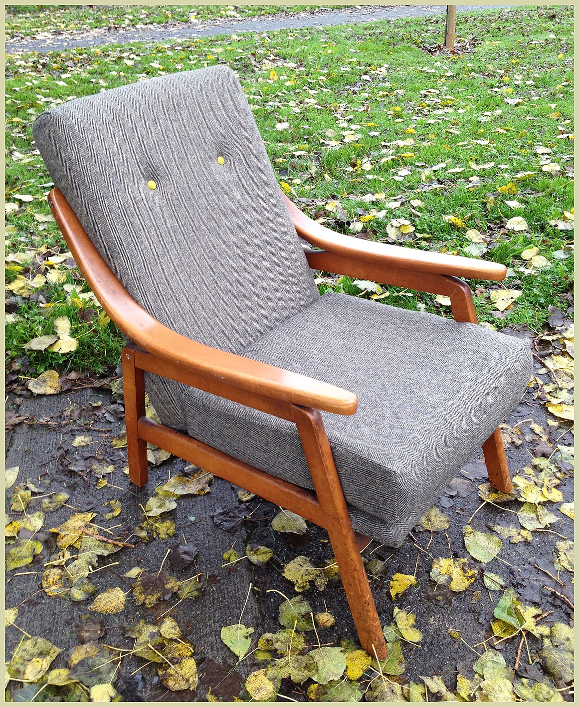 Impressive Deluxe Cintique Armchairs Pertaining To Greys Deciding How To Reupholster My Cintique Armchair Ebay Win (Image 9 of 15)