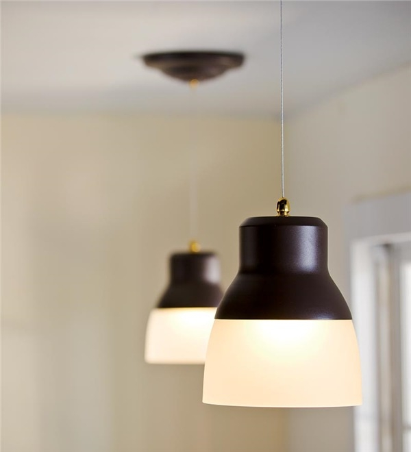 Impressive Deluxe Remote Control Pendant Lights Intended For Remote Controlled Battery Operated Ez Adjustable Pendant Light (View 2 of 25)