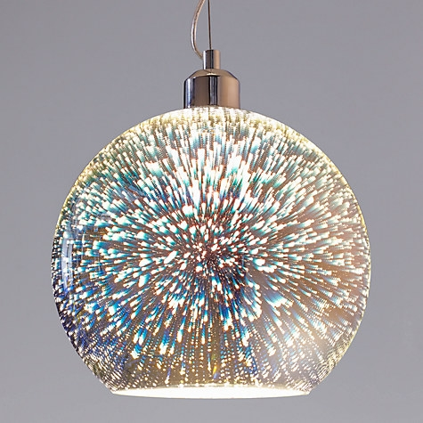 Impressive Elite John Lewis Lighting Pendants In Oberon Holographic Pendant Ceiling Light Multi John Lewis (Image 11 of 25)