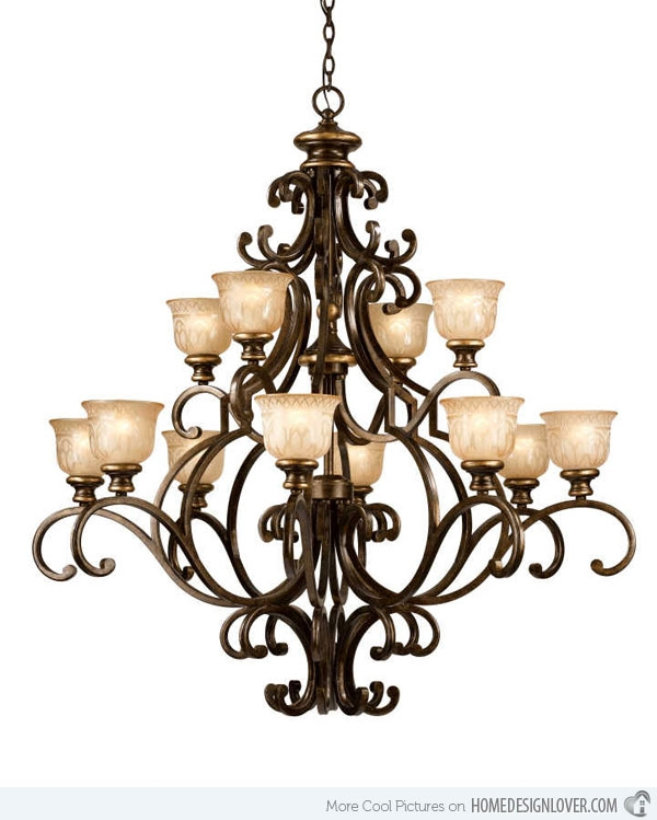 Impressive Elite Wrought Iron Lights With Regard To Creative Of Wrought Iron Chandeliers Wrought Iron Lighting Mexican (Image 14 of 25)