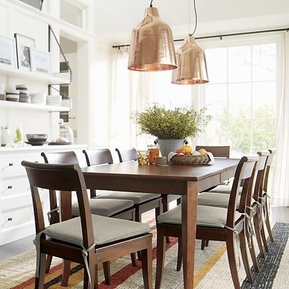 Impressive Famous Crate And Barrel Pendants With Regard To 10 Best Basque Dining Table Images On Pinterest (Image 15 of 25)