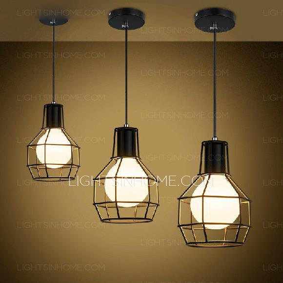 Impressive Famous Primitive Pendant Lighting Throughout Gold Wrought Iron Mini Industrial Pendant Lights (Image 12 of 25)