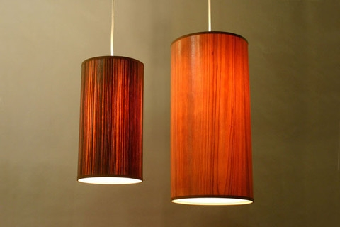 Featured Image of Wood Veneer Pendant Lights