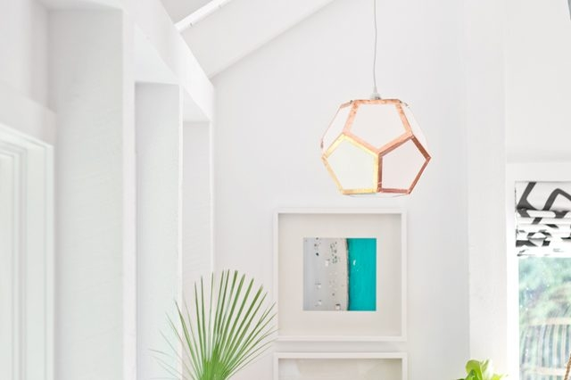 Impressive Fashionable Dodecahedron Pendant Lights Pertaining To How To Make A Dodecahedron Pendant Light Ehow (Image 16 of 25)