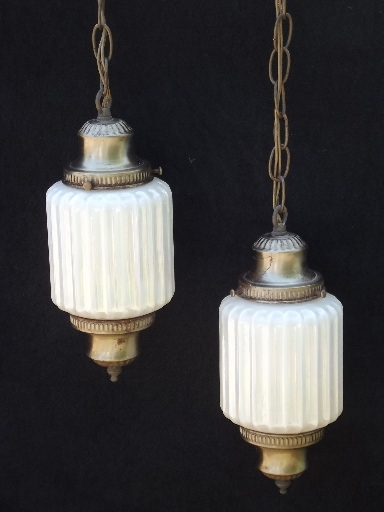 Impressive Fashionable Double Pendant Light Fixtures Intended For Retro Lighting Pendant Lanterns And Swag Lamps (Image 13 of 25)
