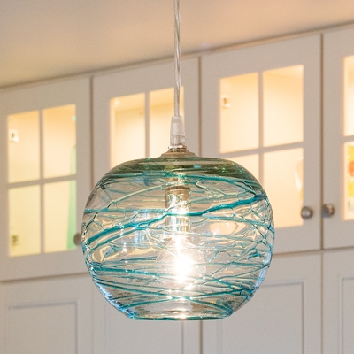 Impressive Fashionable Murano Glass Mini Pendant Lights Pertaining To Jug Lamps Cisco Hand Blown From Recycled Glass Look Amazing (View 21 of 25)