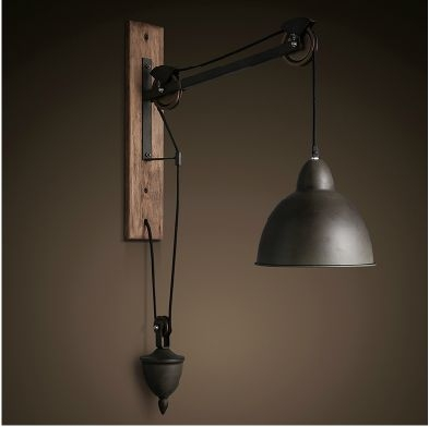 Impressive Fashionable Pulley Pendant Lights In Pulley Pendant Light Hbwonong (Image 12 of 25)