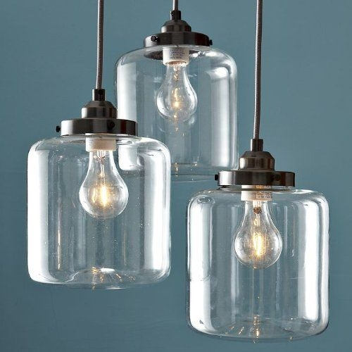 Impressive Favorite Mason Jar Pendant Lights Regarding 27 Best Apartment Lighting Images On Pinterest (Image 13 of 25)