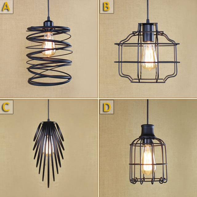 Impressive Latest Birdcage Pendant Lights With Aliexpress Buy New Vintage Led Pendant Lights Industrial (Image 16 of 25)