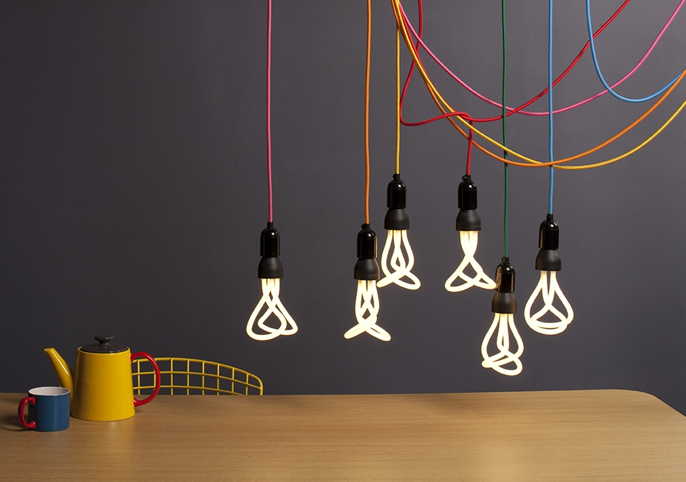 Impressive Latest Coloured Cord Pendant Lights With Bespoke Plumen Lighting Accessories Are Here Plumen (Image 16 of 25)