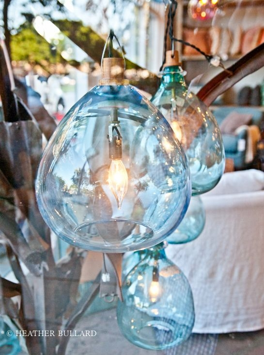 Impressive New Aqua Glass Pendant Lights Intended For Best 20 Blue Pendant Light Ideas On Pinterest Blue Light Bar (Image 7 of 25)