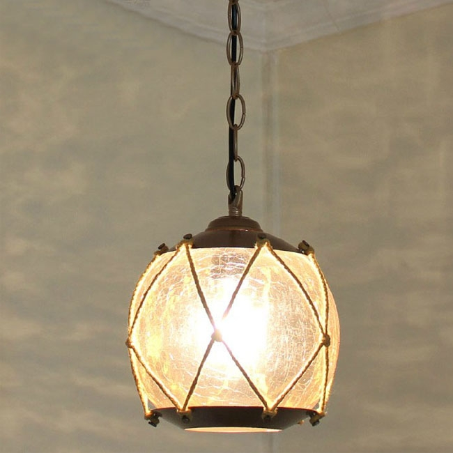 Impressive New Cracked Glass Pendant Lights Regarding Antique Ice Cracked Glass Pendant Lighting 9492 Browse Project (View 12 of 25)