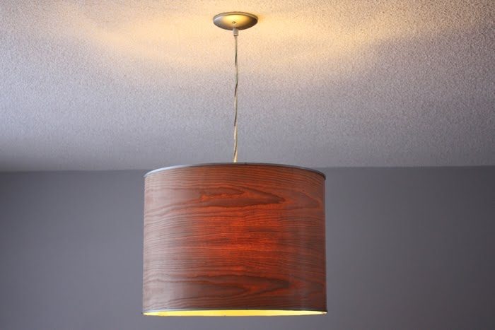 Impressive Popular Wood Veneer Lighting Pendants With Regard To Ikea Rutbo Turned Wood Veneer Pendant Ikea Hackers Ikea Hackers (View 25 of 25)