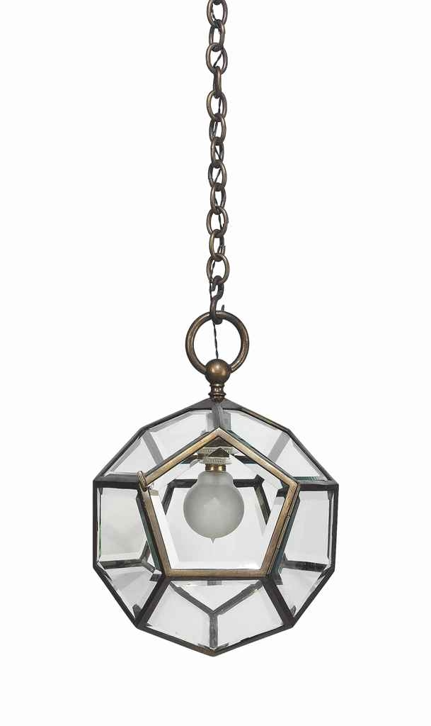 Impressive Preferred Dodecahedron Pendant Lights For Adolf Loos 1870 1933 A Dodecahedron Pendant Light Circa  (Image 18 of 25)