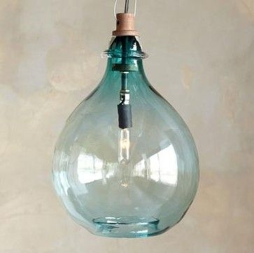 Impressive Premium Aqua Glass Pendant Lights Inside 36 Best Lights Images On Pinterest (Image 8 of 25)