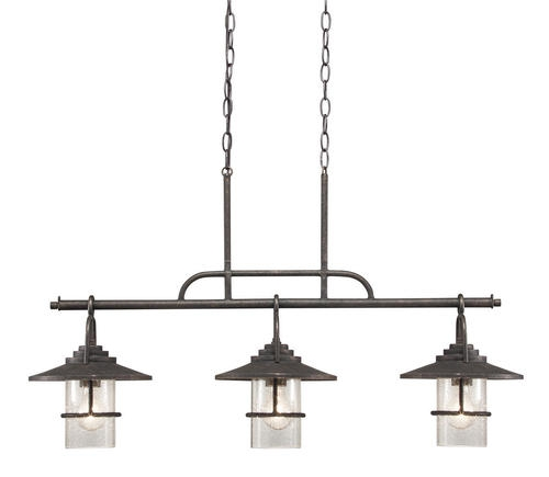 Impressive Premium Patriot Lighting Pendants Intended For Patriot Lighting Elegant Home 3 Light Miner Bronze Island Light (Image 16 of 25)