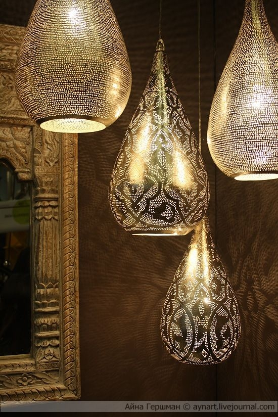 Impressive Series Of Moroccan Punched Metal Pendant Lights Within Best 25 Moroccan Lanterns Ideas Only On Pinterest Moroccan Lamp (View 21 of 25)
