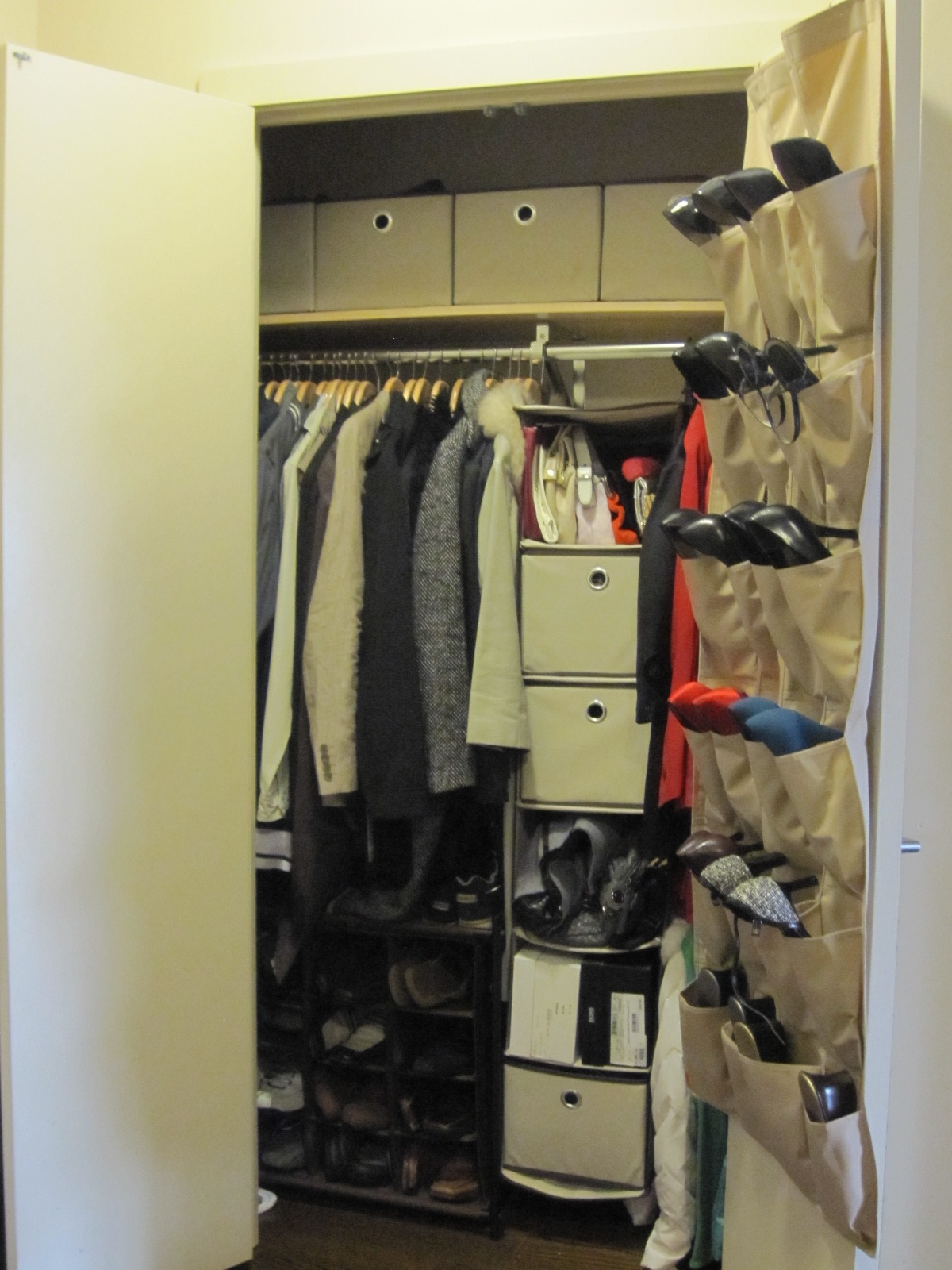 25 collection of bedroom wardrobe storages wardrobe ideas - Storage solutions for small closets ...