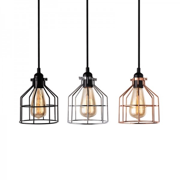 Impressive Top Birdcage Pendant Lights In Vintage Pendant Lights Pendant Lighting Hanging Lights (Image 17 of 25)