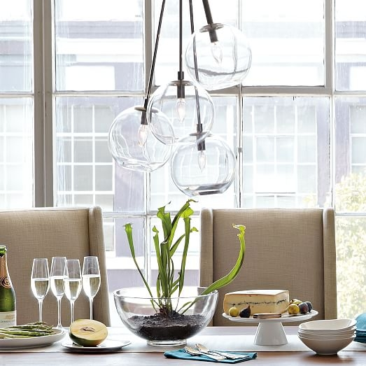 Impressive Top West Elm Cluster Pendants Intended For Cluster Glass Pendant West Elm (View 6 of 25)
