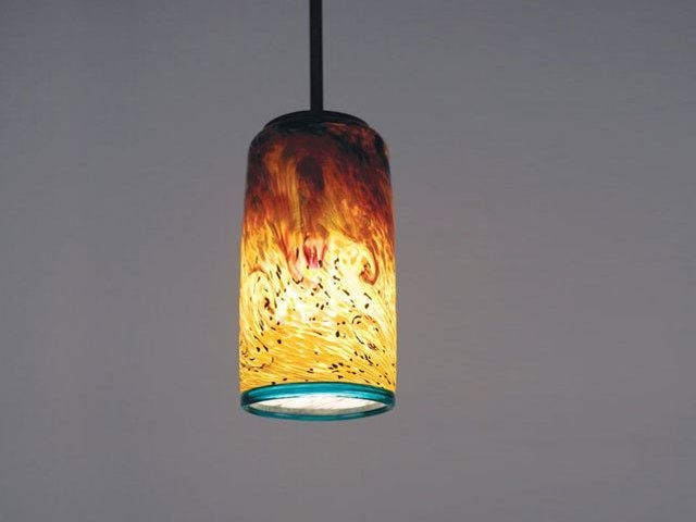 Impressive Trendy Blown Glass Mini Pendant Lights Pertaining To 53 Best Lighting Images On Pinterest (Photo 15 of 25)