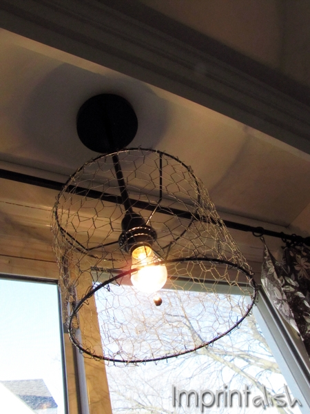 Impressive Wellknown Chicken Wire Pendant Lights In Imprintalish Diy Chicken Wire Pendant Light (Image 16 of 25)
