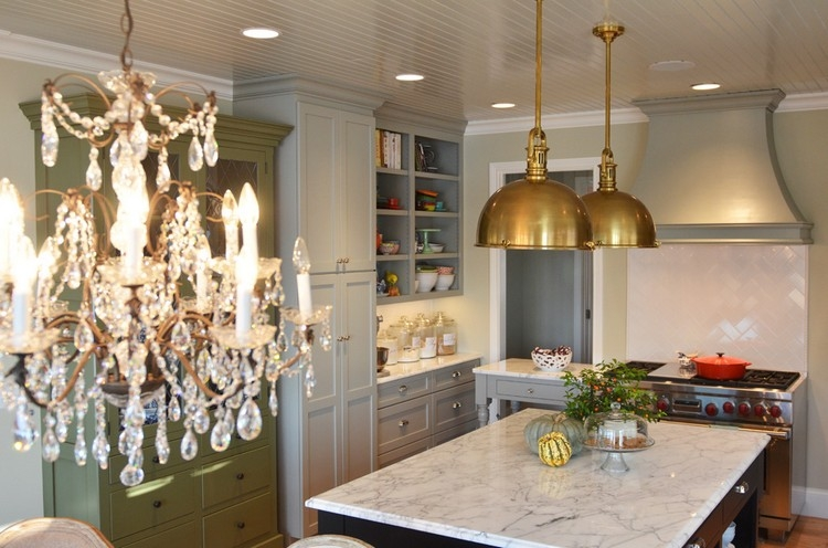 Impressive Wellknown Green Kitchen Pendant Lights Inside The Perfect Brass Pendant Light For Your Kitchen Home Decor Ideas (View 19 of 25)