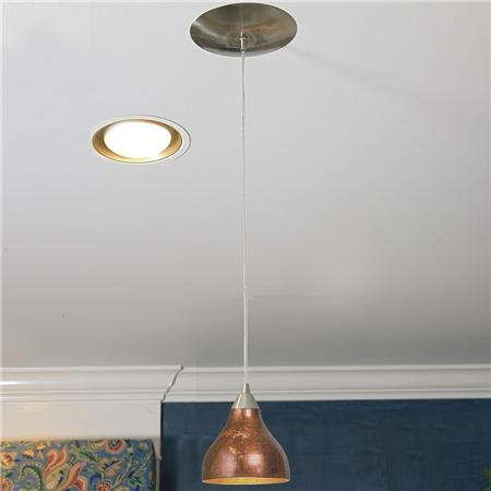 Impressive Well Known Instant Pendant Lights Pertaining To Dining Room Recessed Light Converter Videos Within Convert To (Image 13 of 25)