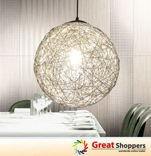 Featured Image of Wire Ball Light Pendants